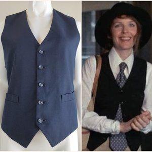 Vintage Navy Blue Vest